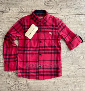 Pure Cotton Boys Long Sleeve Shirt | Children's Clothing for sale in Lagos State, Alimosho