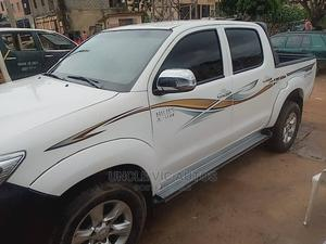 Toyota Hilux 2015 SR 4x4 White | Cars for sale in Abuja (FCT) State, Apo District