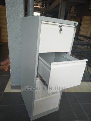 Strong Metal Four Drawer Cabinet With Safe | Furniture for sale in Lagos State, Lekki