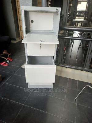 Executive Metal Four Drawer Cabinet With Safe | Furniture for sale in Lagos State, Ikeja