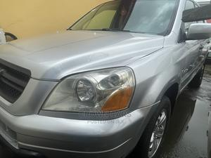 Honda Pilot 2004 Silver | Cars for sale in Lagos State, Ogba