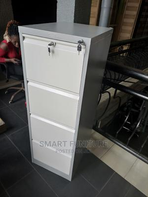 Classic Metal Four Drawer Cabinet With Safe | Furniture for sale in Lagos State, Ikoyi