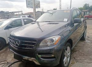 Mercedes-Benz M Class 2013 ML 350 4Matic Gray   Cars for sale in Lagos State, Abule Egba