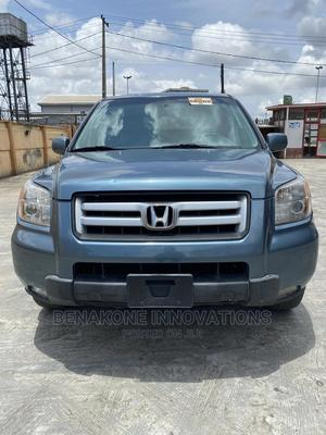 Honda Pilot 2008 EX-L 4x4 (3.5L 6cyl 5A) Blue | Cars for sale in Lagos State, Surulere