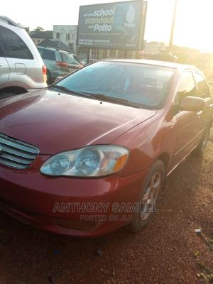 Toyota Corolla 2004 Sedan Automatic Red | Cars for sale in Enugu State, Enugu