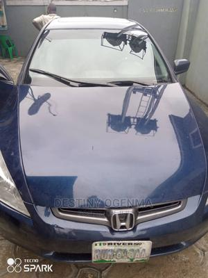 Honda Accord 2005 Coupe Automatic Blue | Cars for sale in Rivers State, Obio-Akpor