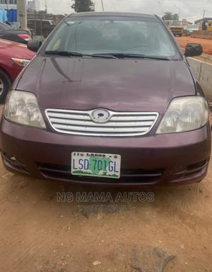Toyota Corolla 2004 Burgandy | Cars for sale in Lagos State, Agege
