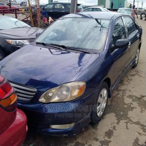 Toyota Corolla 2004 1.8 TS Blue | Cars for sale in Lagos State, Ikeja