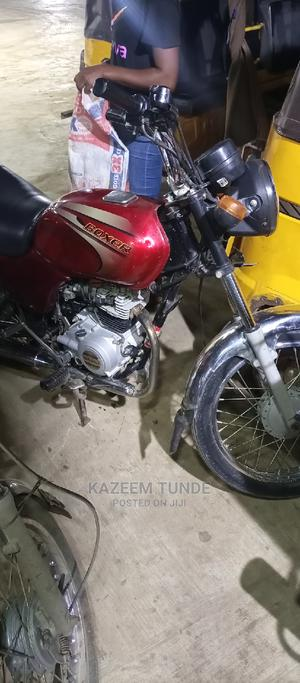 Bajaj Boxer 2021 Red | Motorcycles & Scooters for sale in Lagos State, Ikotun/Igando