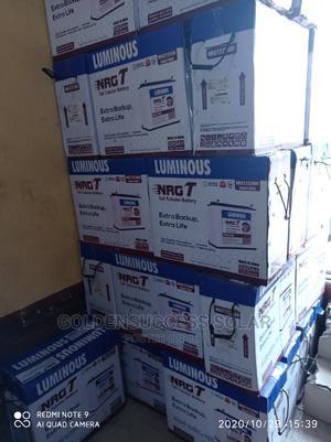 220ah 12volt Luminous Tubular Batteries | Solar Energy for sale in Lagos State, Ojo
