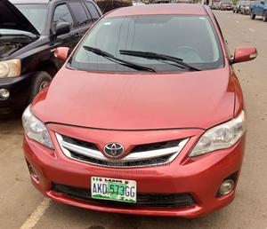 Toyota Corolla 2009 1.8 Advanced Red | Cars for sale in Lagos State, Kosofe