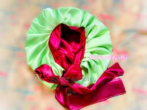 Satin Hair Bonnet With Tie | Hair Beauty for sale in Abuja (FCT) State, Galadimawa