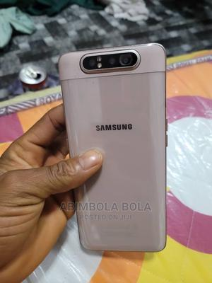 Samsung Galaxy A80 128 GB Rose Gold | Mobile Phones for sale in Lagos State, Ojo