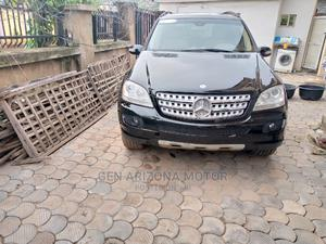 Mercedes-Benz M Class 2008 ML 350 4Matic Black | Cars for sale in Abuja (FCT) State, Apo District