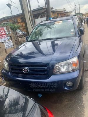 Toyota Highlander 2005 Limited V6 Blue | Cars for sale in Lagos State, Ikeja