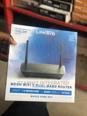 Linksys Mesh Wifi Dual-Band Router | Networking Products for sale in Lagos State, Ikeja