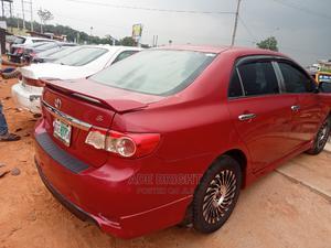 Toyota Corolla 2011 Red   Cars for sale in Ogun State, Sagamu