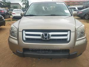 Honda Pilot 2007 LX 4x2 (3.5L 6cyl 5A) Gold | Cars for sale in Lagos State, Ikotun/Igando