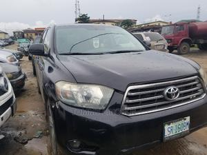 Toyota Highlander 2008 Limited 4x4 Black   Cars for sale in Rivers State, Port-Harcourt