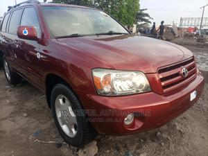 Toyota Highlander 2006 Limited V6 Red   Cars for sale in Lagos State, Apapa