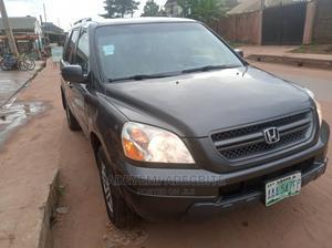 Honda Pilot 2004 Gray   Cars for sale in Lagos State, Alimosho