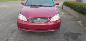 Toyota Corolla 2007 LE Red | Cars for sale in Lagos State, Magodo
