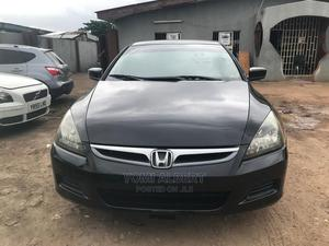 Honda Accord 2007 2.4 Black | Cars for sale in Lagos State, Ikeja