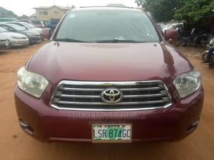 Toyota Highlander 2008 Red   Cars for sale in Lagos State, Alimosho