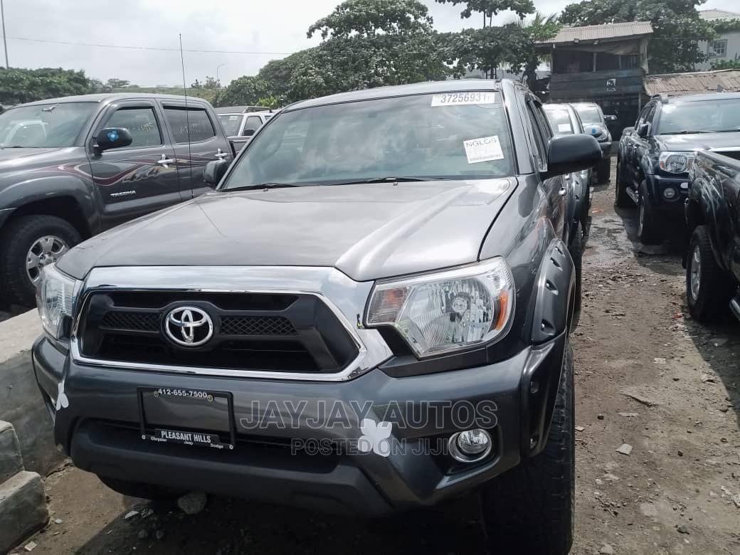 Toyota Tacoma 2013 Gray