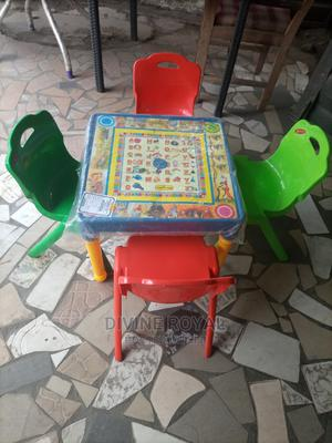 Children's Plastic Table and Chairs   Children's Furniture for sale in Lagos State, Ikoyi