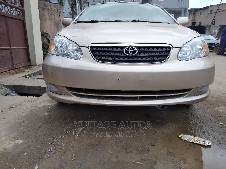 Toyota Corolla 2005 Gold | Cars for sale in Ikeja, Lagos State, Nigeria
