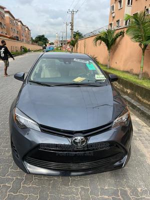 Toyota Corolla 2018 LE Eco (1.8L 4cyl 2A) Gray | Cars for sale in Lagos State, Oshodi