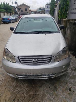 Toyota Corolla 2003 Sedan Automatic Silver | Cars for sale in Lagos State, Ajah