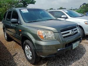 Honda Pilot 2006 EX-L 4x4 (3.5L 6cyl 5A) Green | Cars for sale in Abuja (FCT) State, Katampe