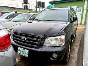 Toyota Highlander 2005 V6 Black | Cars for sale in Lagos State, Ikeja