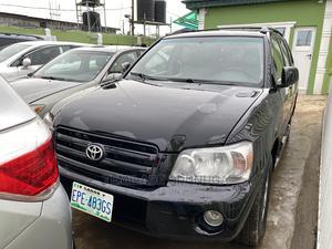 Toyota Highlander 2005 Black | Cars for sale in Lagos State, Ikeja