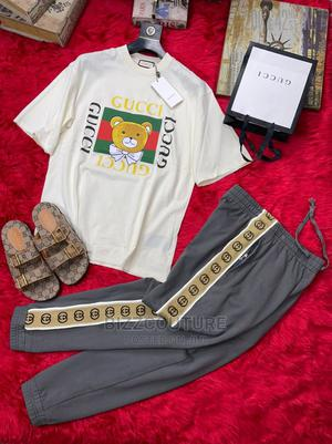 High Quality GUCCI White T-Shirts for Men   Clothing for sale in Abuja (FCT) State, Wuse 2