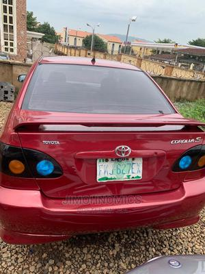 Toyota Corolla 2004 Red | Cars for sale in Abuja (FCT) State, Jahi