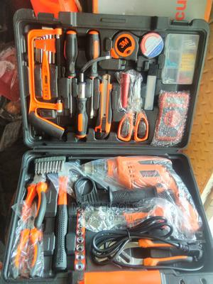 Electrical Toolbox Set With Drill Machine   Hand Tools for sale in Lagos State, Lagos Island (Eko)