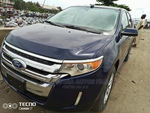 Ford Edge 2012 SE 4dr FWD (3.5L 6cyl 6A) Blue   Cars for sale in Lagos State, Amuwo-Odofin