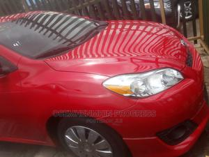 Toyota Matrix 2009 Red | Cars for sale in Lagos State, Ogba
