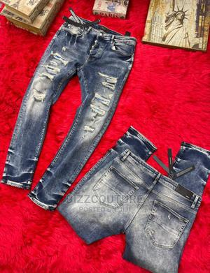 High Quality AMIRI Black Jeans for Men | Clothing for sale in Abuja (FCT) State, Wuse 2