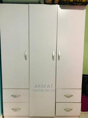 Brown Big Three Doors Wardrobe | Furniture for sale in Lagos State, Ikeja