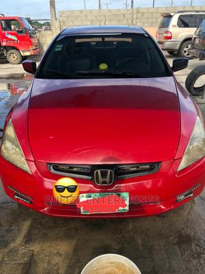 Honda Accord 2003 Automatic Red   Cars for sale in Lagos State, Ibeju