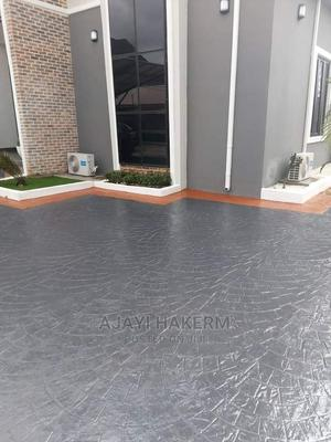 Concrete Stamp Flooring | Landscaping & Gardening Services for sale in Oyo State, Ogbomosho South
