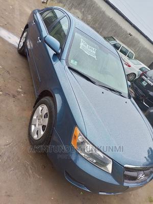 Hyundai Sonata 2007 2.4 Automatic Blue | Cars for sale in Ogun State, Obafemi-Owode
