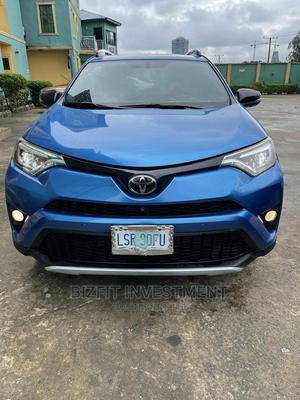 Toyota RAV4 2016 SE AWD (2.5L 4cyl 6A) Blue | Cars for sale in Lagos State, Ajah
