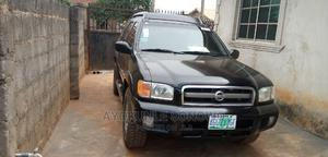 Nissan Pathfinder 2003 SE AWD SUV (3.5L 6cyl 4A) Black | Cars for sale in Lagos State, Ikorodu