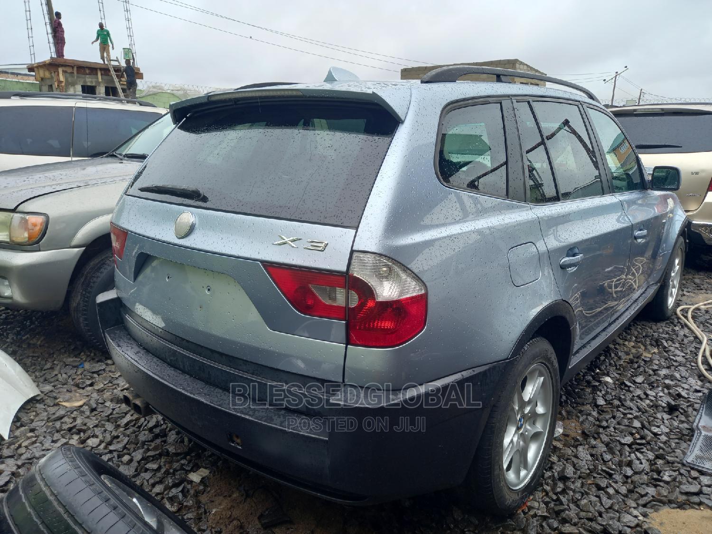 Archive: BMW X3 2005 2.5i Blue