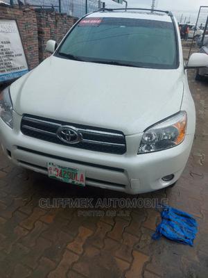 Toyota RAV4 2008 2.0 VVT-i White | Cars for sale in Lagos State, Ajah